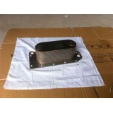 Cummins Engine Cooling Systerm Oil Cooler For Yutong Bus