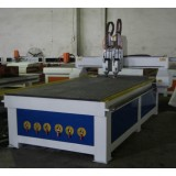 Q2-2 Spindle Pneumatic Tool Changer CNC Wood Router Machine For Cabinet Doors, Solid Wood Doors, Pla