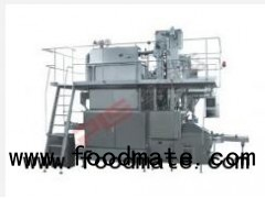 Automatic paper and aluminum laminated film aseptic brick-shaped filling machine