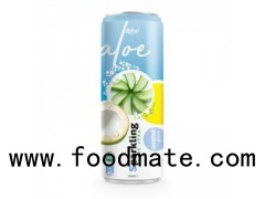 Private Label Brand Sparkling Aloe Vera Coconut 320ml