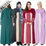 Plus Size Muslim Women Prayer Dress