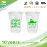 8 Oz Disposable Clear Plastic Cups With Lids