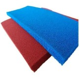 High Temperature Resistant Open Cell Blue Silicone Foam Sponge Sheet Roll for Ironing Tables in Garm