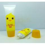 30ml Empty Cosmetic Screen Printing Surface Handing Plastic Pe Packaging Tube