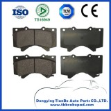 Ceramic High Performance Durable Brake Pad With Shim For Toyota Tundra