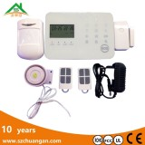 home gsm burglar anti-theft wireless security alarm system with touch keypad