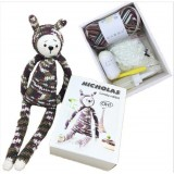Lovely Rabbit Acrylic Dk Yarn Crochet Craft Kits For Kids