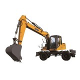 XCMG Construction Equipment XE150W Cheap Wheel Excavator