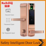 Electronic Swipe RFID Card Hotel Smart Reader Door Lock With Software Managment System