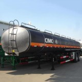 Bitumen Tanker Trailers , Asphalt Trailers , Asphalt Hot Oil Trailers -- Vehicles CIMC
