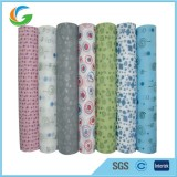 Multi Color Printed Non Woven Pp Fabric Rolls For Flower Wrapping
