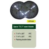 2PC TCT Saw Blades Set (EN/MPA Certificate)