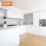 Modern Australia Style Best White Painting Wood For Kitchen Cabinets