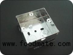 1 Gang Galvanized Metal Electrical Box