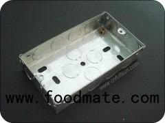 2 Gang Electrical Metal Box