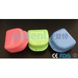Middle Open Denture Box With Slot