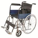 Chromed Manual Wheelchair