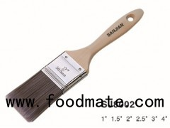 Wood Handle Synthetic Hairs Paint Brush