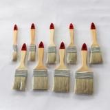 Wooden Handle Natural Bristle Paint Brush