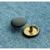 Black Snap Press Metal Button