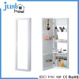 Wall hung jewelry cabinet