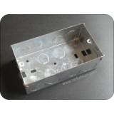 Double Gang Metal Socket Box