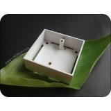 Single Gang PVC Pattress Box