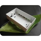 Double Gang PVC Pattress Box