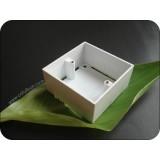 1 Gang PVC Pattress Box