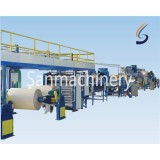 Honeycomb paper making machine