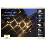 narrow beam glass led cylindrical lenses for led wall lights