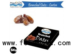 High Quality Packed Dates, Branched Dates Deglet Noor from Tunisia , Packed Dates 5 Kg Carton