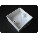 1 Gang PVC Knock Out Box