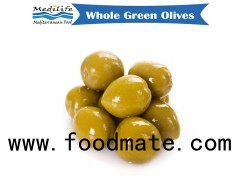 Whole Green Olives 370g Jar