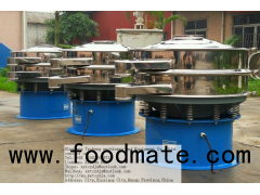 PTA pvc circular vibrating screen
