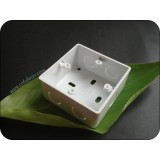 1 Gang PVC Switch Box Without Brass Nut