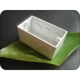 Rectangular PVC Electrical Switch Box