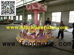 9 Seats Mini Carousel Test in Factory