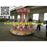9 Seats Mini Carousel Test in Factory