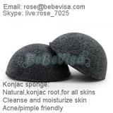 Baboo Charcoal Konjac Cleansing Sponge