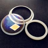 custom 100w 120degree led glass lens