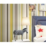 Fashion TV Wall Room With Vertical Stripe Wallpaper Roll