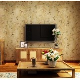 Vintage American Country Non-Woven Wallpaper Roll