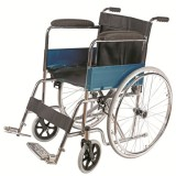 Chrome Manual Wheelchair