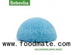 100% pure natural konjac sponge / Wuhan Bebevisa manufacture