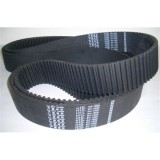 High Tension Low Noise Rubber HTD Pitch 3M 5M 8M 14M Industrial Transmission Belt in Black