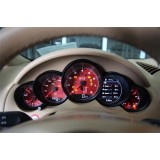 White Yellow Red Speedometer For Cayenne 958.2 (2015+)