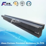High Precision Black Granite Guideways With Grade00 Of DIN, JIS Or GB For CMM, Drilling Milling Mach