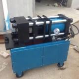 upset forging machine|Rebar Straight Thread Rolling Machine