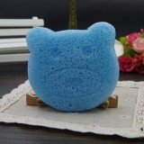 Spot-friendly Sponge Natural Blue Berry Organic Facial Cleansing Konjac Sponge